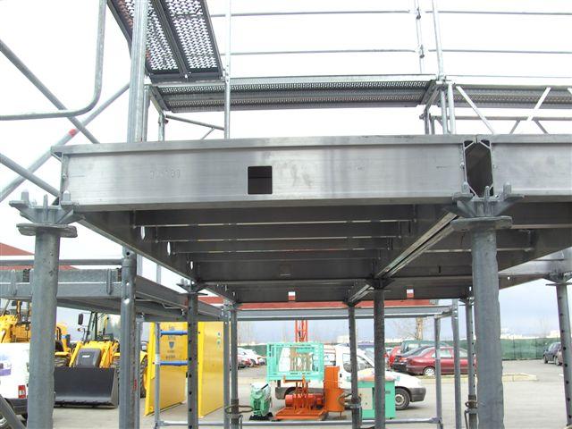 алуминиев кофраж за стълби